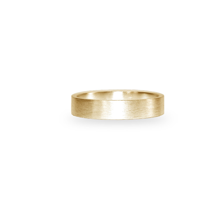 SATIN BAND FLAT_YELLOW GOLD_THUMB