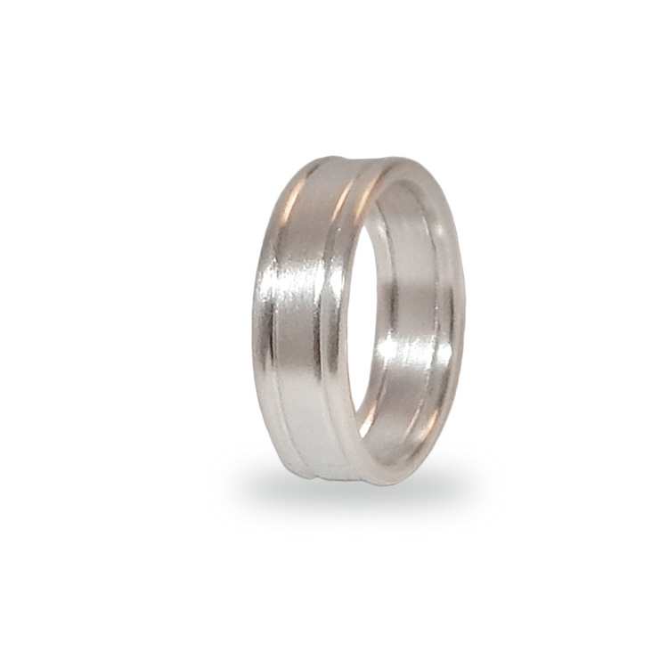 SATIN BAND DOUBLE WIRE_WHITE GOLD_THUMB