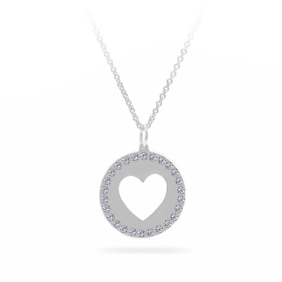 HEART DISC_WHITE GOLD_V3
